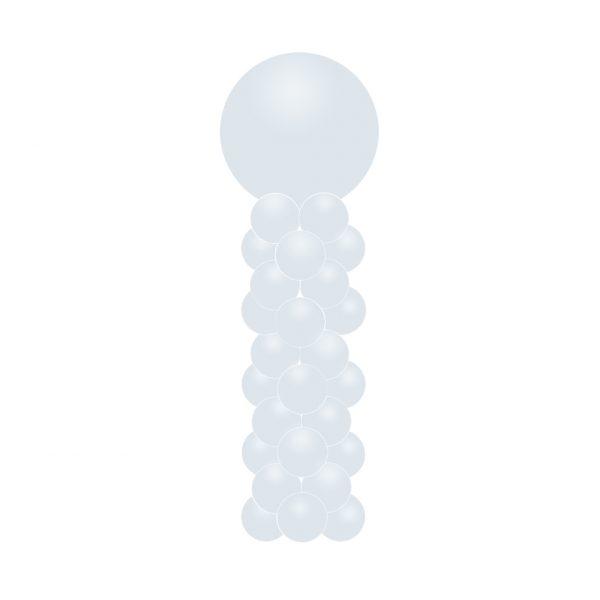 ballonnenpilaar bestellen