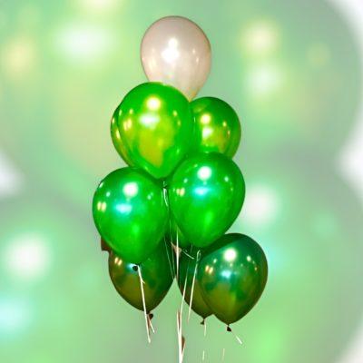 heliumballon trosjes met gewichtje