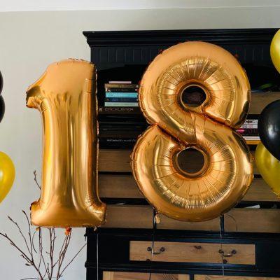 grote cijfer ballonnen