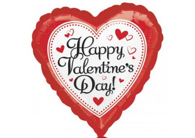 happy valentine rood hart