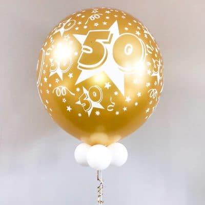grote heliumballon 50 jaar