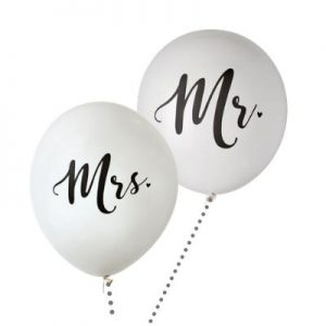 mr en mrs ballon