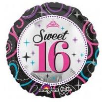 sweet 16 folieballon