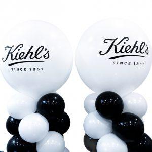 ballonpilaren met logo bedrukt