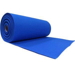 blauwe loper 2 meter breed