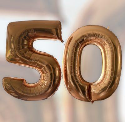 folieballonnen 50 jaar