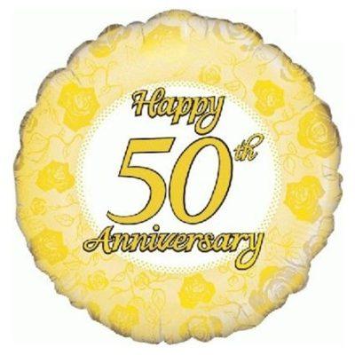 50 jaar jubileum ballonnen