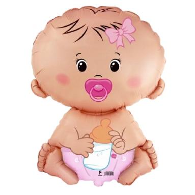 baby girl geboorte meisje ballon