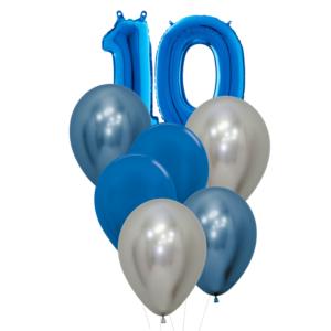 10 jaar heliumballon trosje