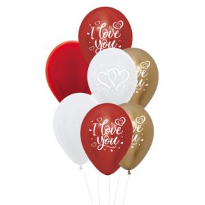 i love you heliumballon trosje