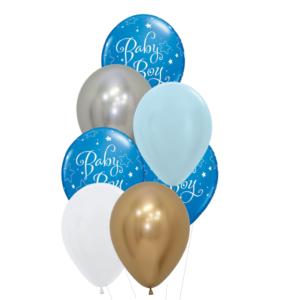 baby boy heliumballon trosje