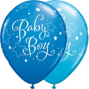 baby boy heliumballonnen