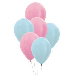 gender reveal trosje heliumballonnen